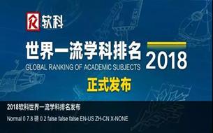 2018全球計算機與(yu)工程學(xue)科排名︰MIT奪冠(guan) 中國23所高校(xiao)上榜