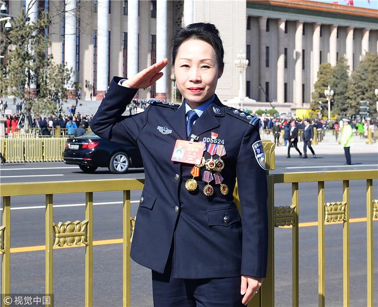 全国人大代表、贵阳市公安局刑侦支队副支队长石蓉