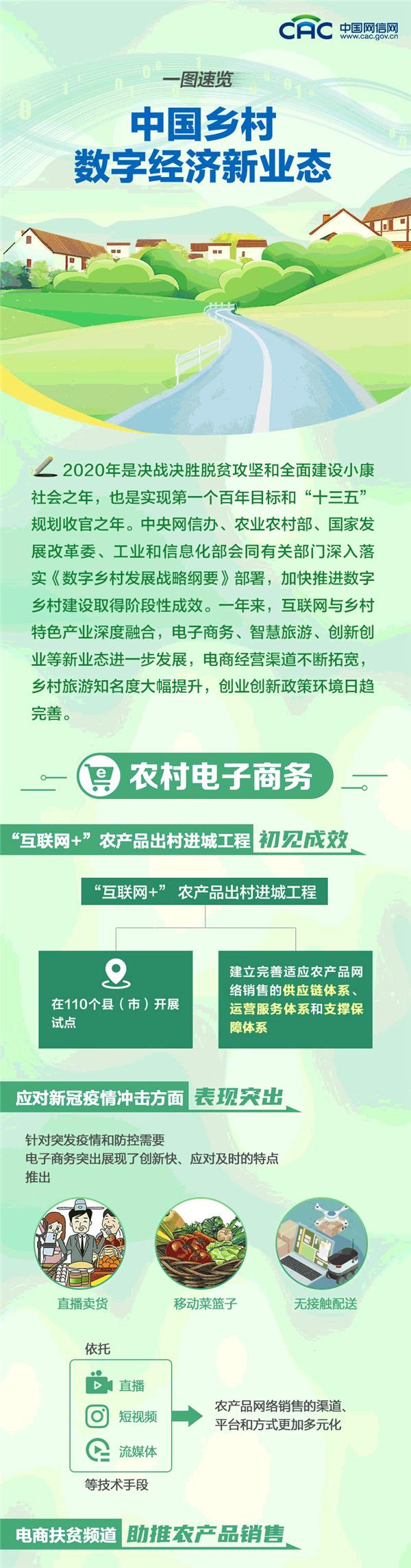中國農村數字經濟新模式管窺